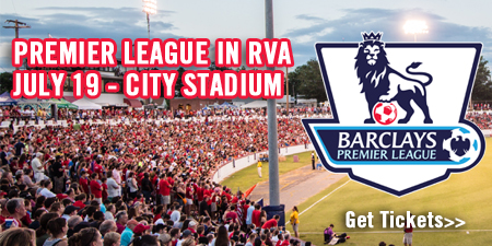 Richmond Kickers Host West Bromwich Albion