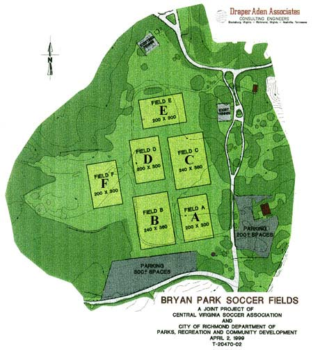 Bryan Park Site Plan - Click to enlarge